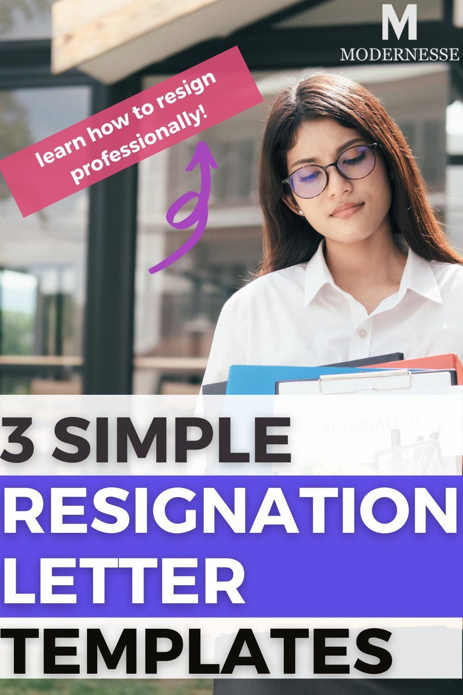18++ Heartfelt resignation letter to boss ideas