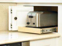 kuechenschraenke einrichten toaster schublade 122617170 - Kuechenschraenke