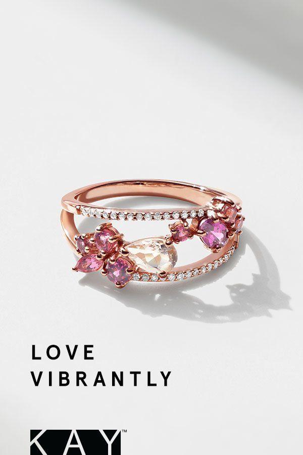 Decorative Diamond Rings