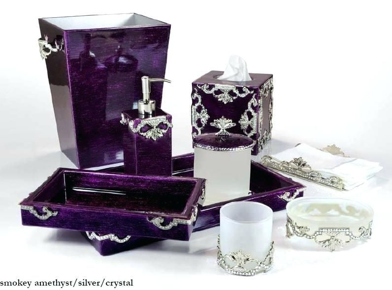 purple and black bathroom sets - lanzhome.com in 2020 ...