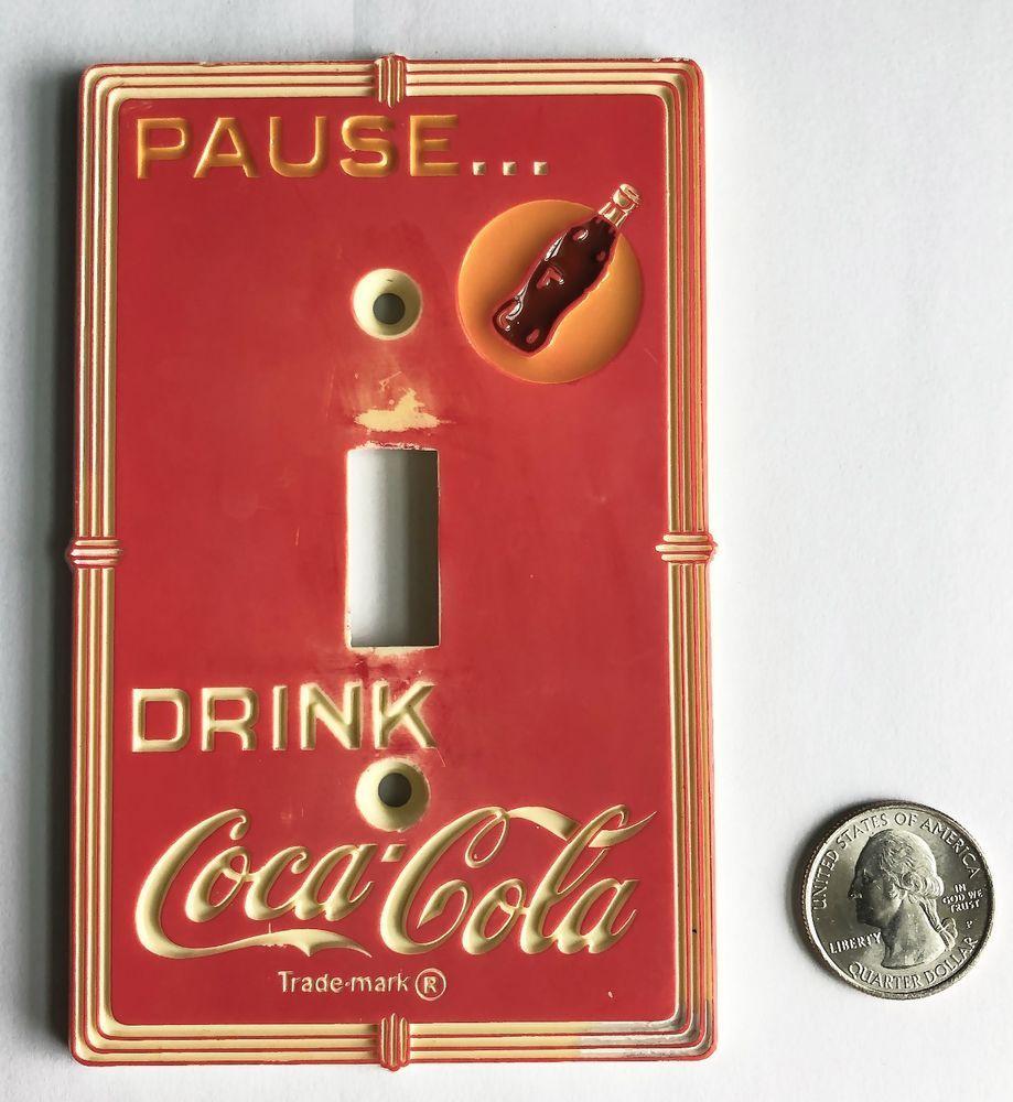 Rustic authentic vintage coca cola art deco style single light