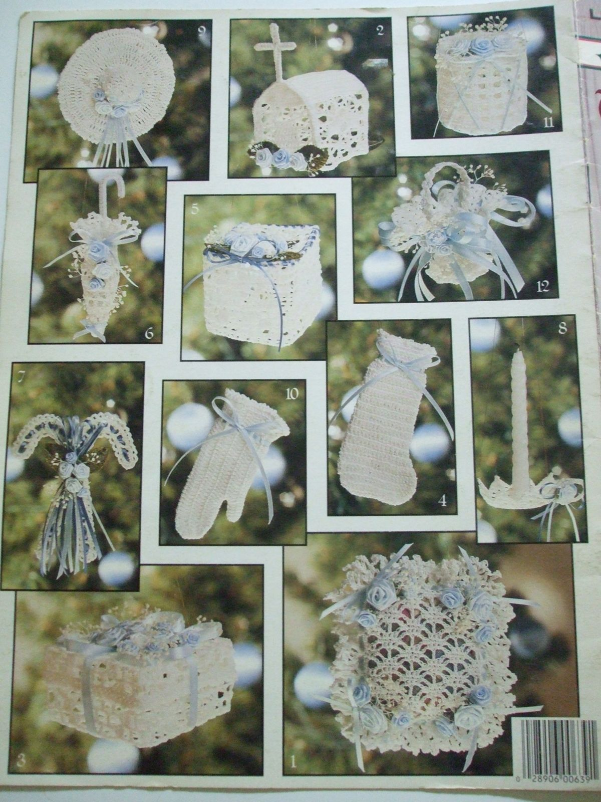 Second silver victorian christmas ornaments book 2 crochet second silver victorian christmas ornaments book 2 crochet patterns 12 designs bankloansurffo Image collections