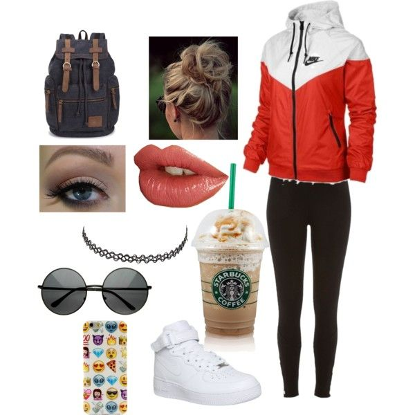 WolfTyla Inspired Outfit by mshowels on Polyvore featuring polyvore fashion  style NIKE River Island Charlotte Russe