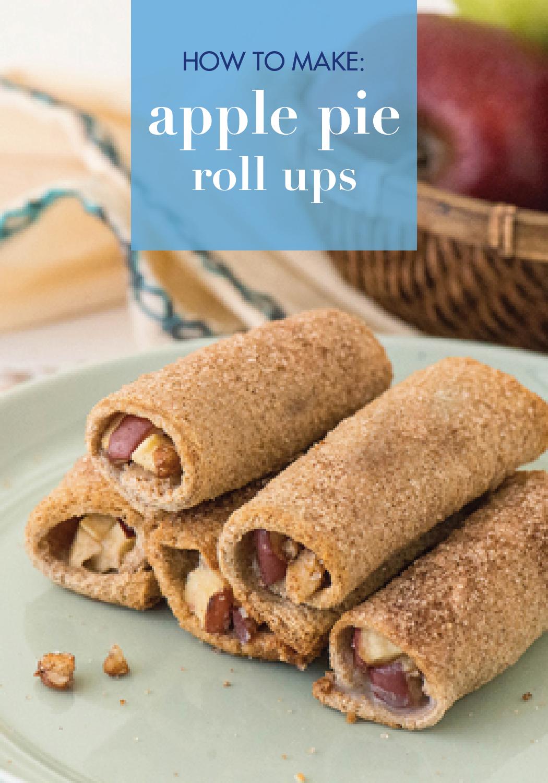 Photo of Creamy Apple Pie Roll Ups