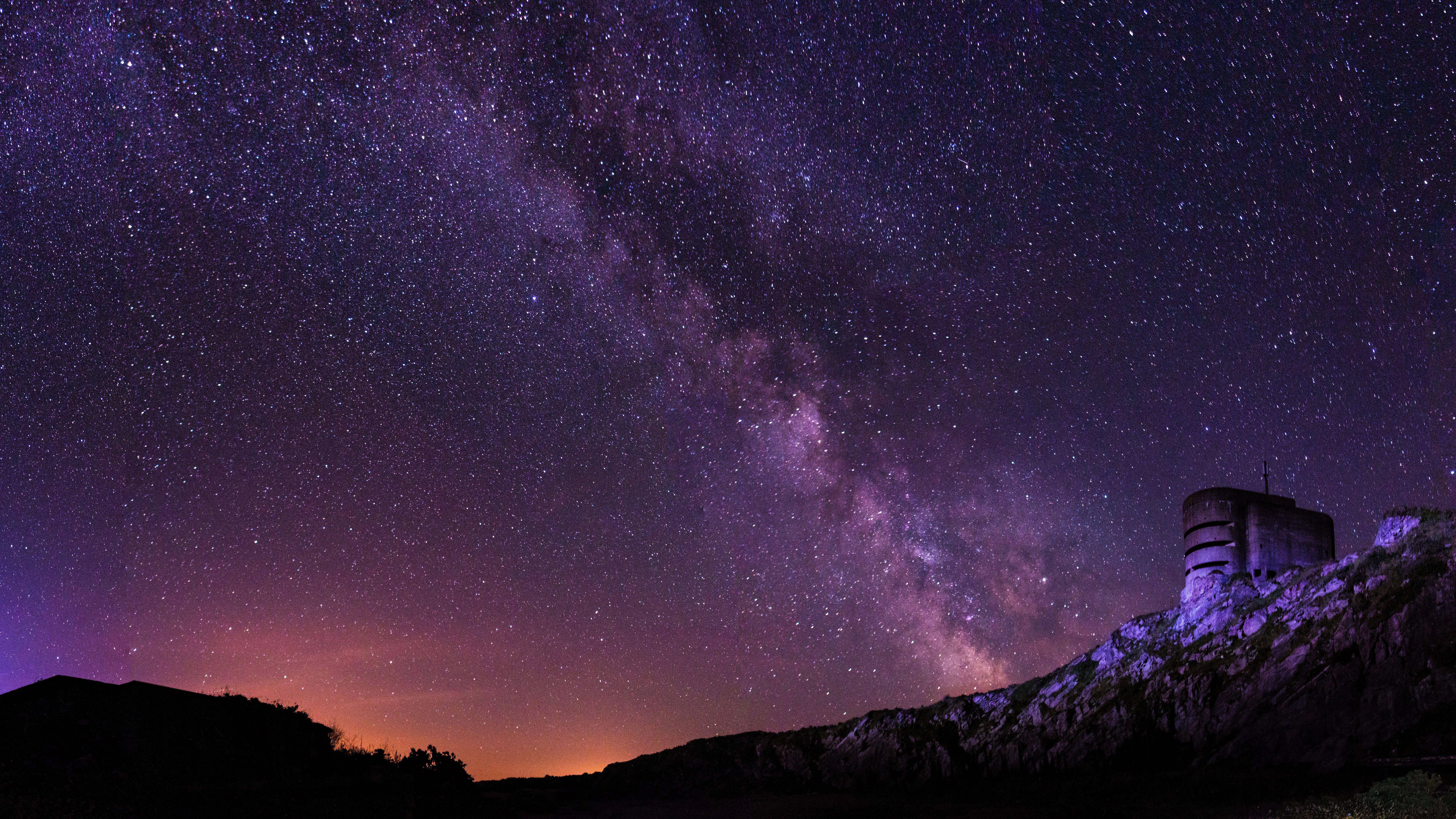 Starry Sky 4k 8k Night Sky Wallpaper Sky Wallpaper Starry Sky