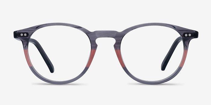 1c3d95ac97fb4b Kyoto Gray Clear Acétate Lunettes de vue EyeBuyDirect. Découvrez une  qualité, un style et