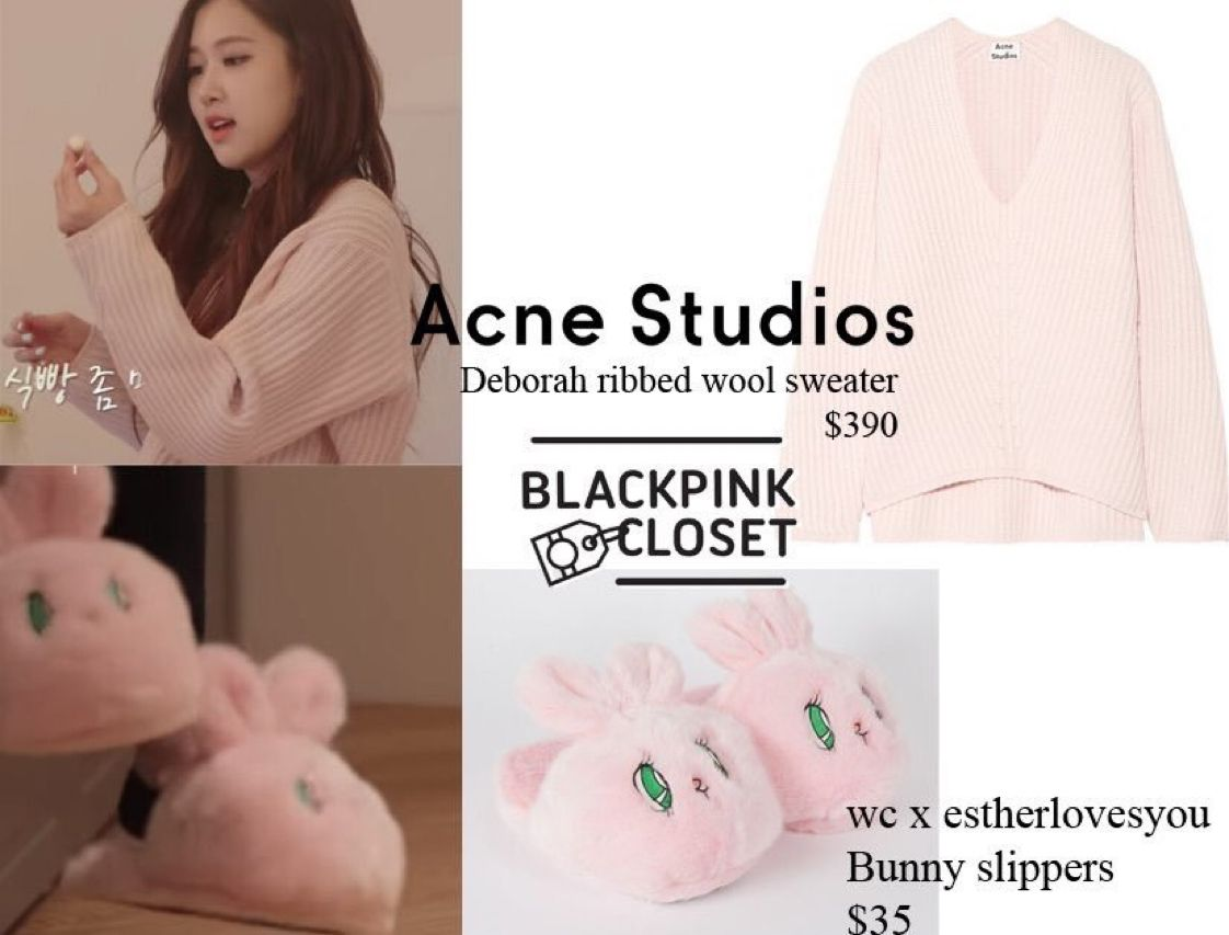 black pink slippers