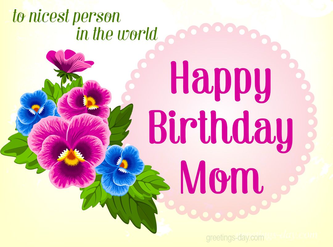 Happy birthday mom happy birthday names pinterest happy happy birthday mom dhlflorist Choice Image