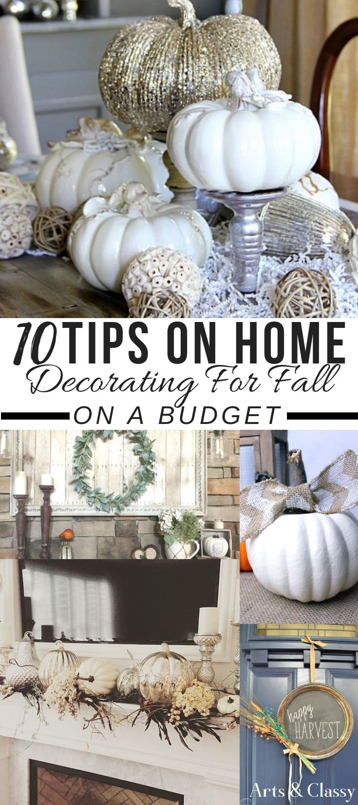 10 Home Decorating Ideas for Fall + FREE PRINTABLES | Arts and Classy