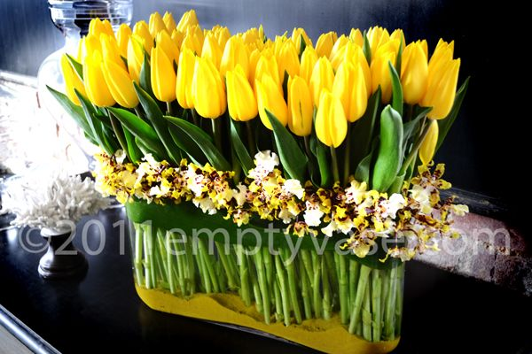 Empty Vase Florist Of Los Angeles Mon Paradis Des Fleurs
