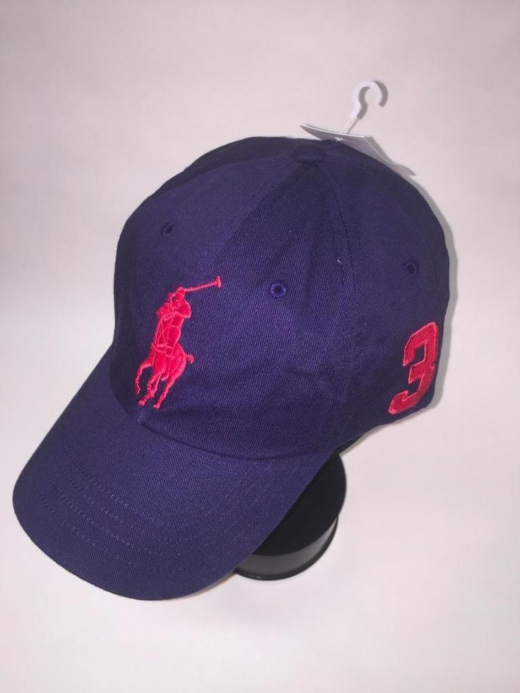84b9b9a3 Polo Ralph Lauren Navy Blue w-Red Big Pony Ball Cap~Hat~POLO GOLF CAP~1  SIZE~NEW #PoloRalphLauren #BASEBALLGOLFCAP