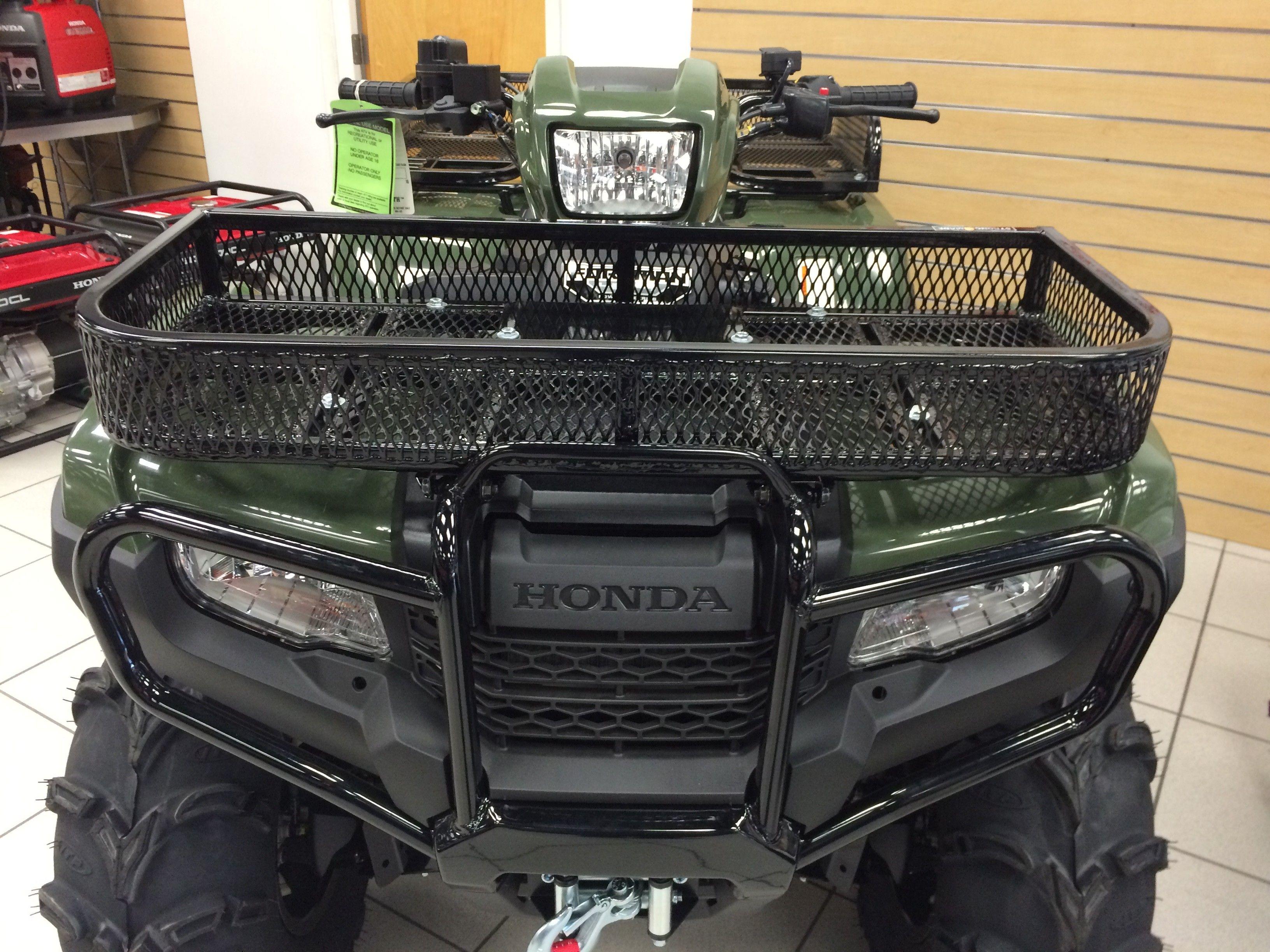 249 Front Rack For Honda Foreman Rancher 2014 2019 Rubicon
