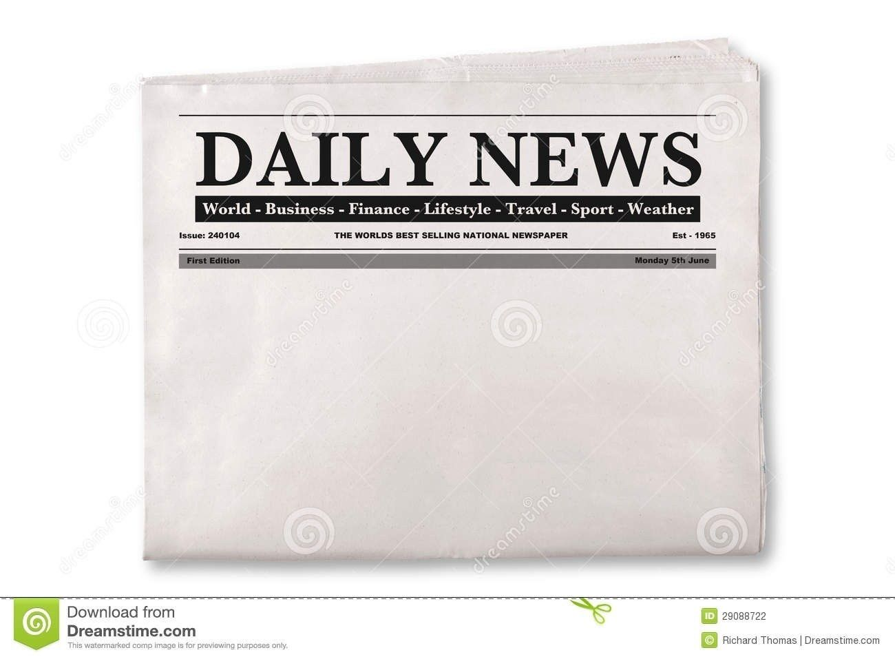 Blank Newspaper Png 1 El Parga Pertaining To Blank Newspaper Png 201820623 Blank Newspaper Newspaper Newspaper Template