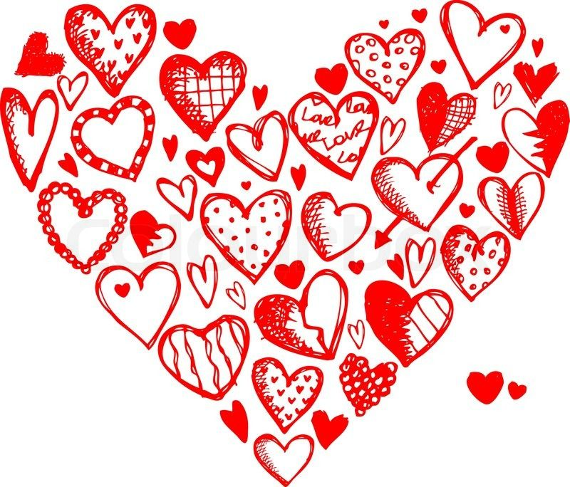 Valentine heart designs valentines pinterest for S design photo