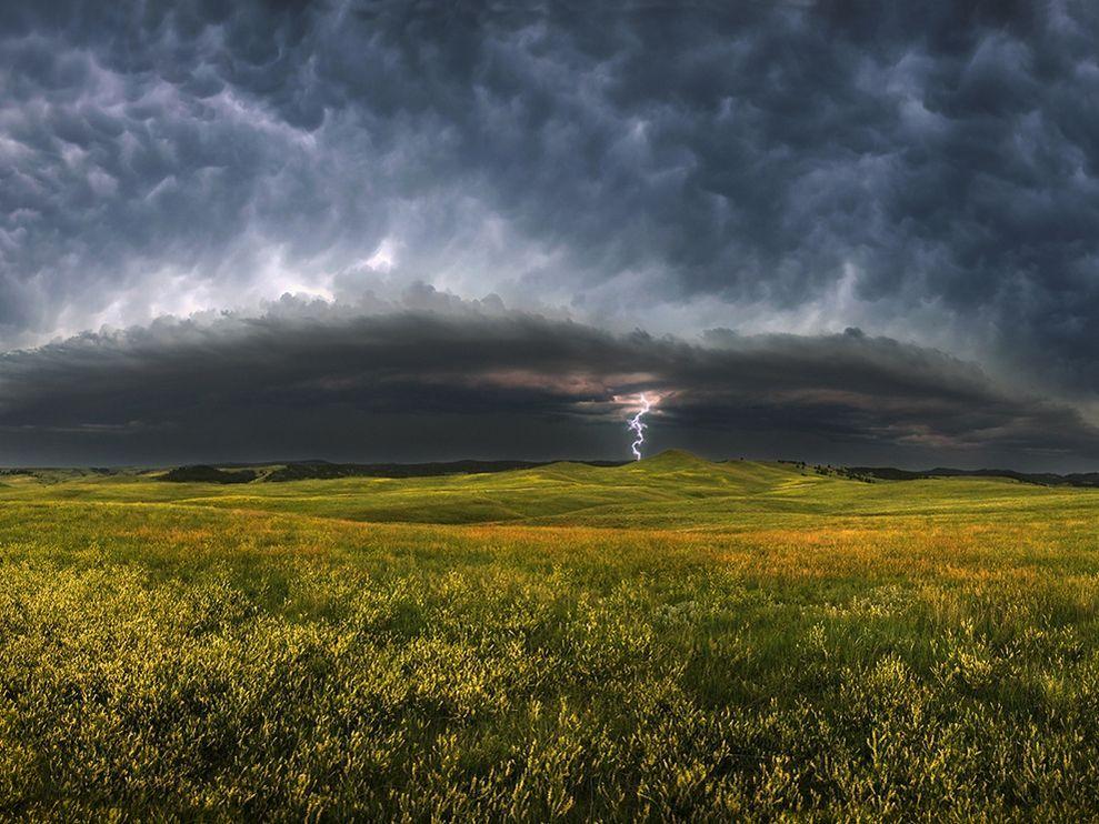 Storm clouds, South Dakota