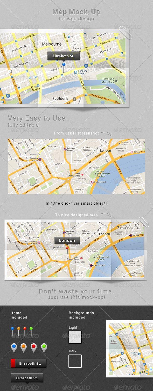 Map Mock Up Web Design Map Web Design Tips
