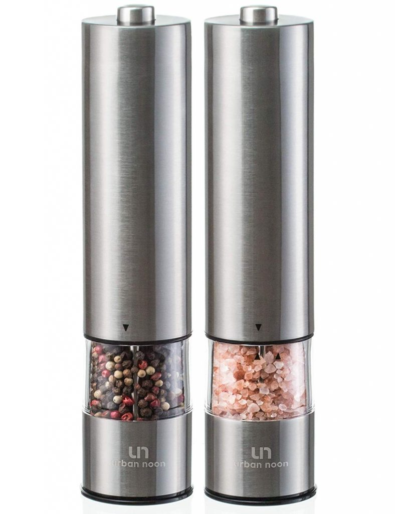 11 Best Salt Grinders For Your Home Kitchen To Buy In 2019 Salt And Pepper Grinders Salt Grinder Stuffed Peppers