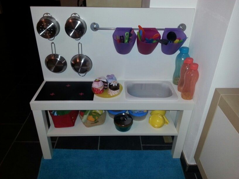 Ikea Lack Tv Bank Umgebaut Zur Kinderküche Materialkosten Unter 25