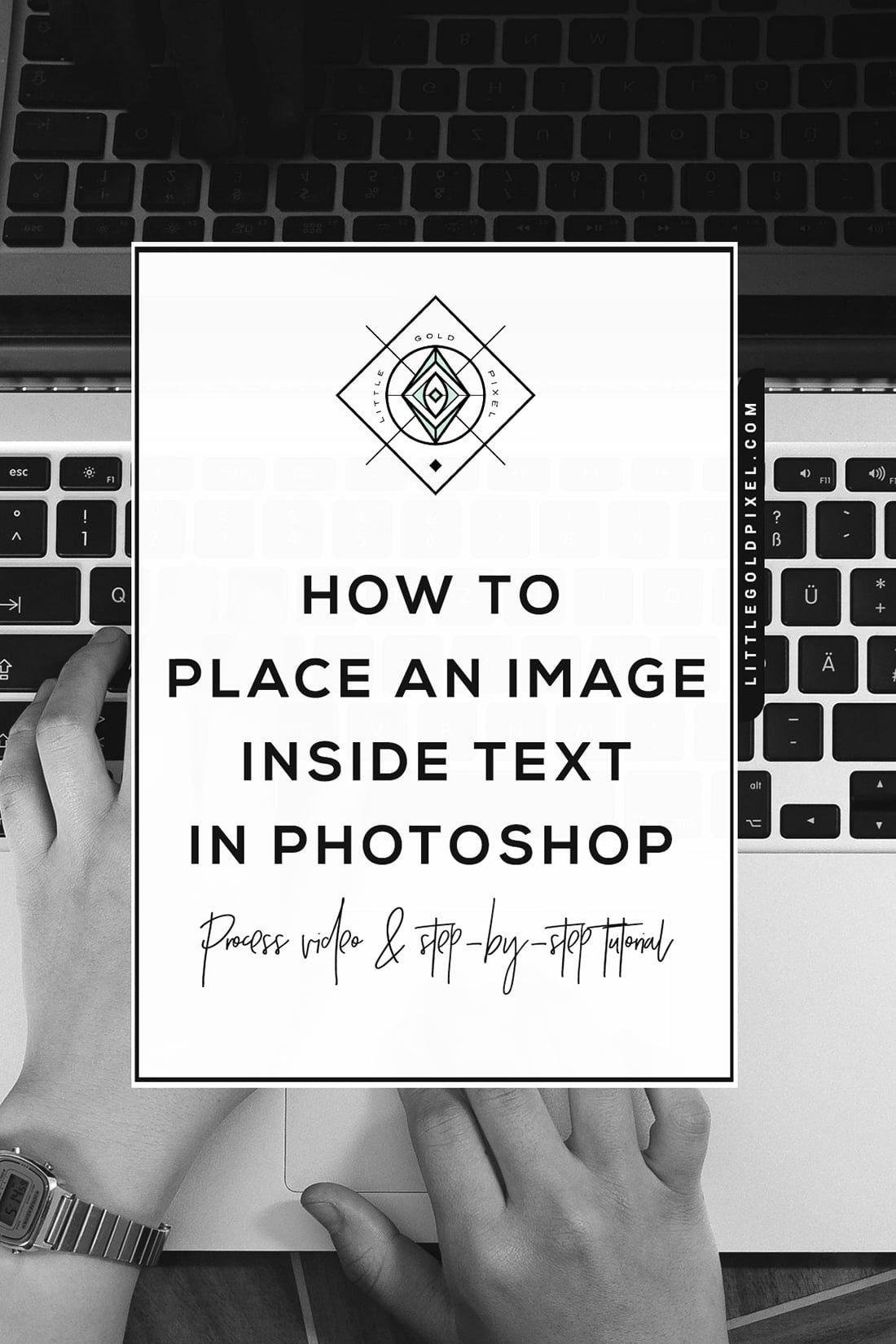 How to put font in photoshop