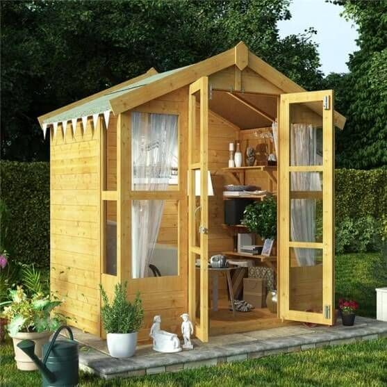 6x4 summerhouse | Garden Inspiration | Pinterest