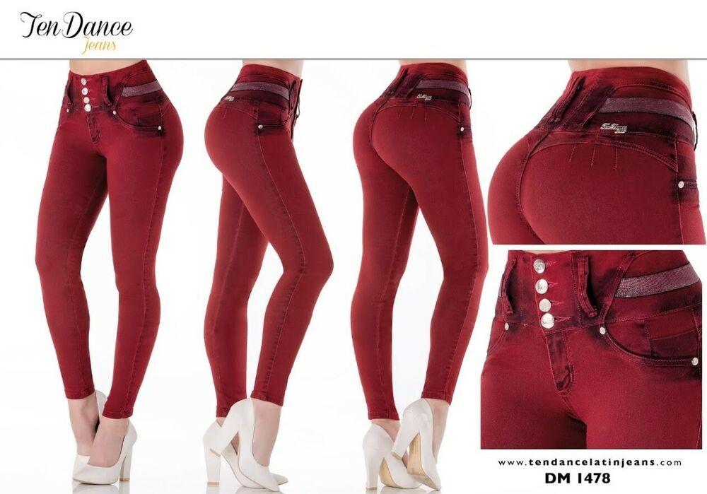 4015 Bon Bon Up Jeans Levanta cola jeans colombianos butt lifter levanta pompis