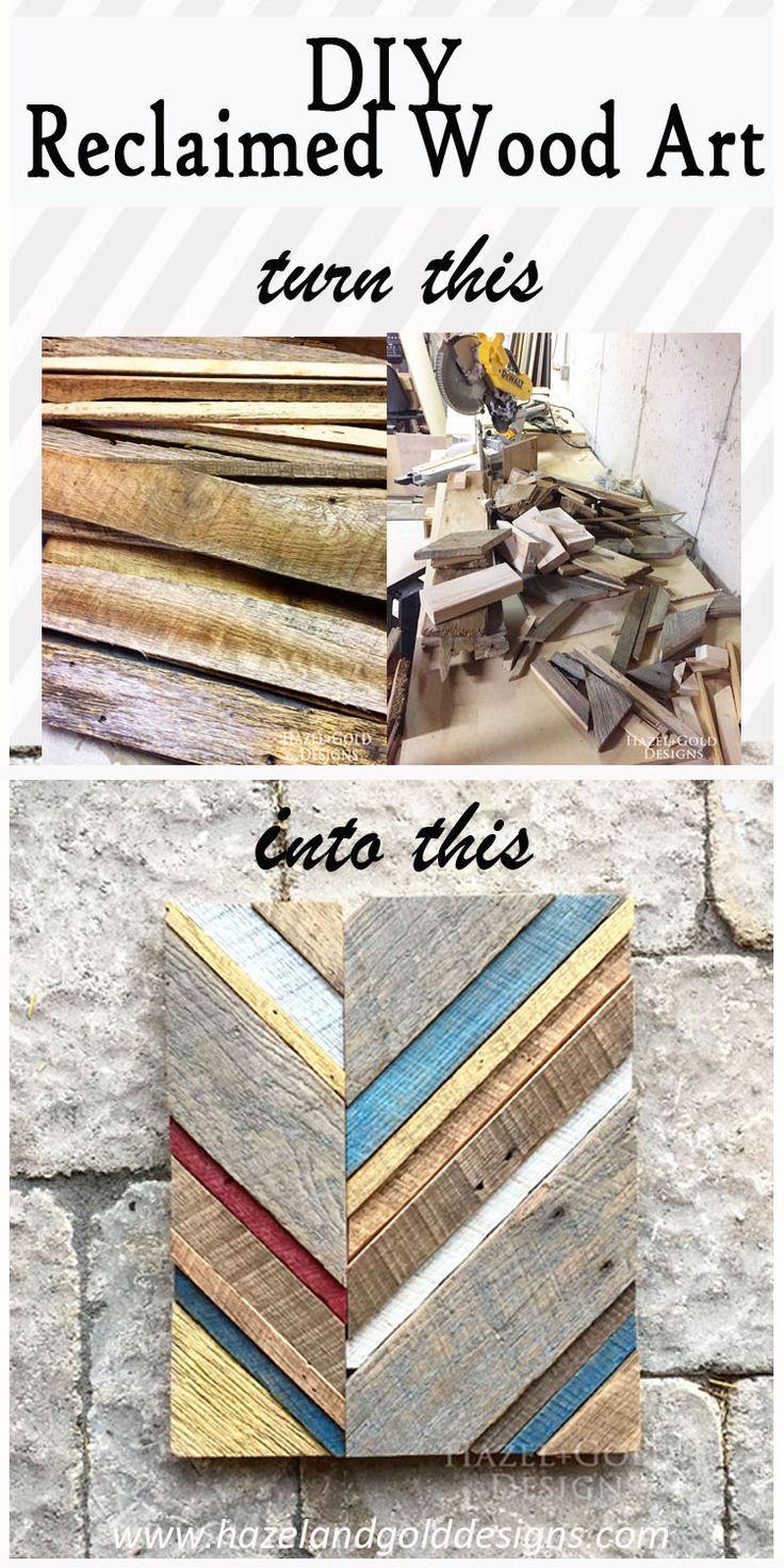 Diy reclaimed barn wood art diy wood wood art and barn wood