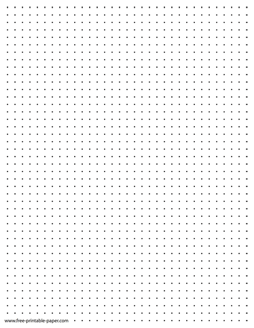 Here We Have A Dot Paper Printable With Two Dots Per Inch Dotted Grid Paper In Pdf Format Dot Grid Template T Printable Graph Paper Paper Template Grid Paper
