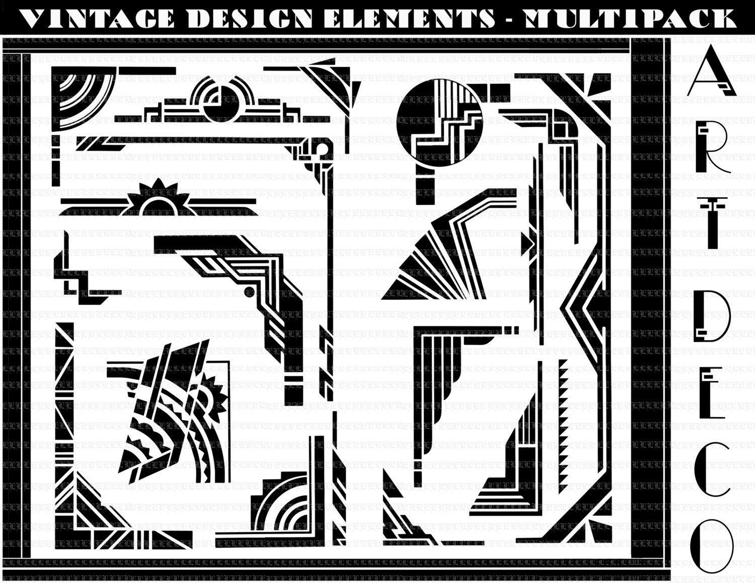 Art deco design elements home design for Deco 5 elements