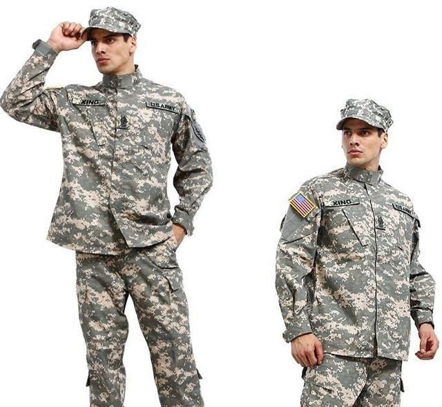 New Military Camo Camouflage Suit Airsoft Uniform Sets-Jacket Pant