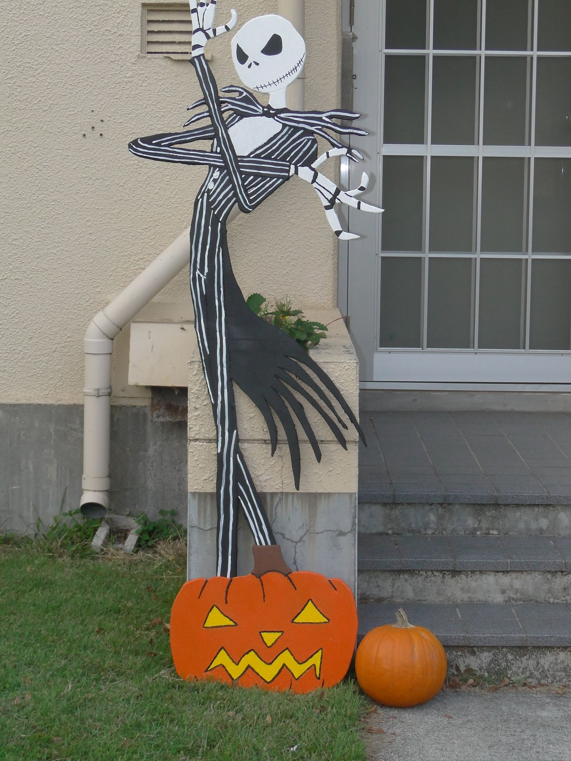 nightmare before Christmas Halloween yard decor | crafts i have made ...