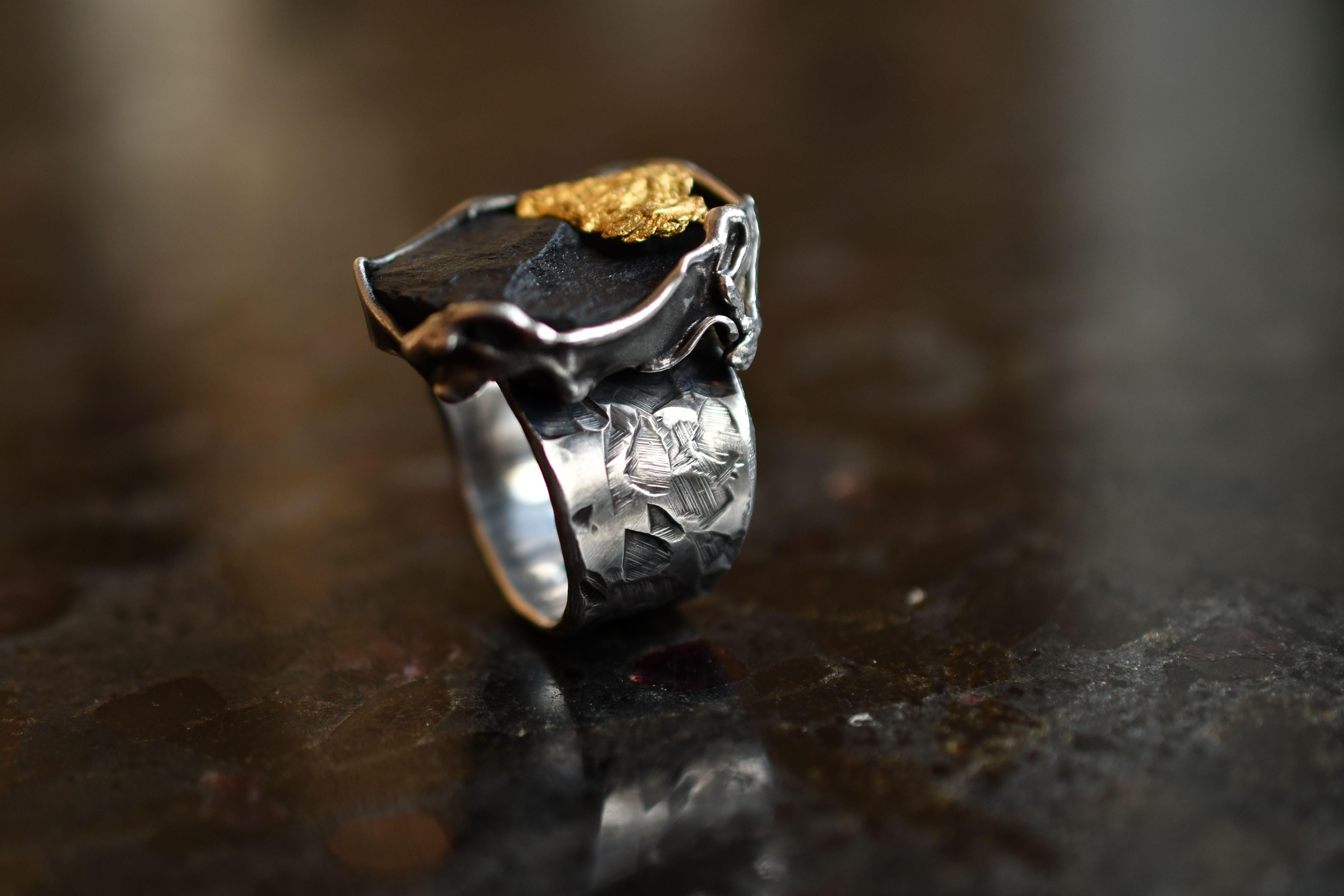 Ring Aus Der Handarbeit Silber Ringe Gold
