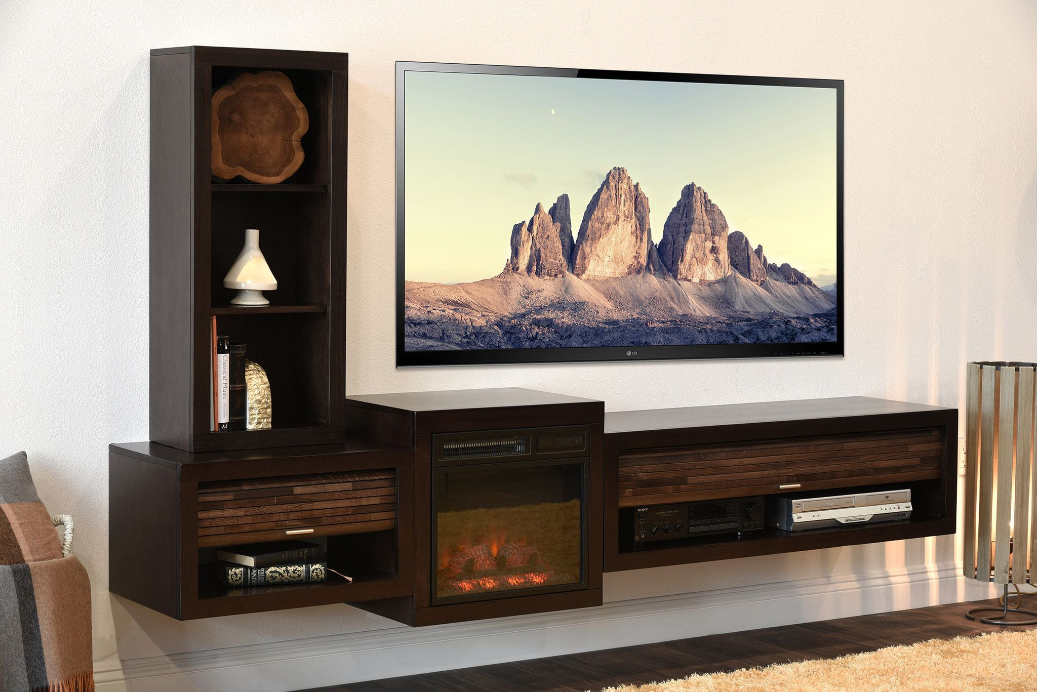 10 Diy Tv Stand Ideas You Can Try At Home Fireplace Tv Stand