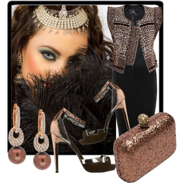 Bronze Beautiful, created by jacque-reid on Polyvore