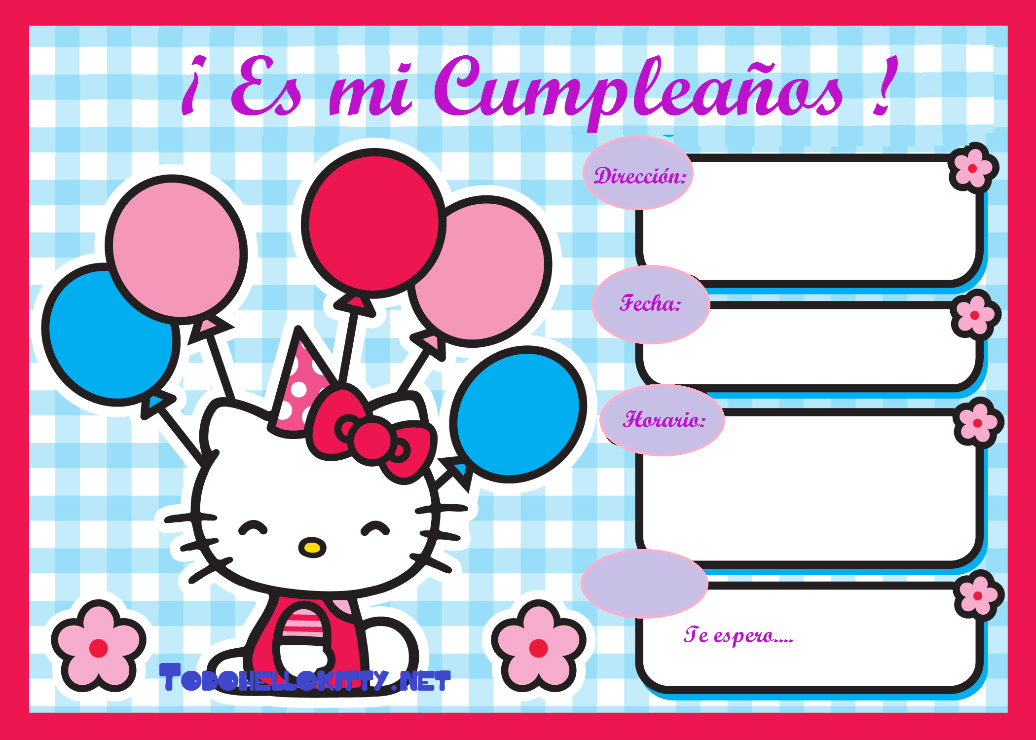 Tarjetas De Invitacion A Cumpleaños Gratis Para Enviar Para