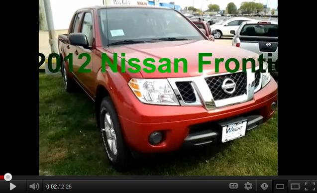 2012 Nissan Frontier 2012 Nissan Frontier Nissan Frontier Nissan