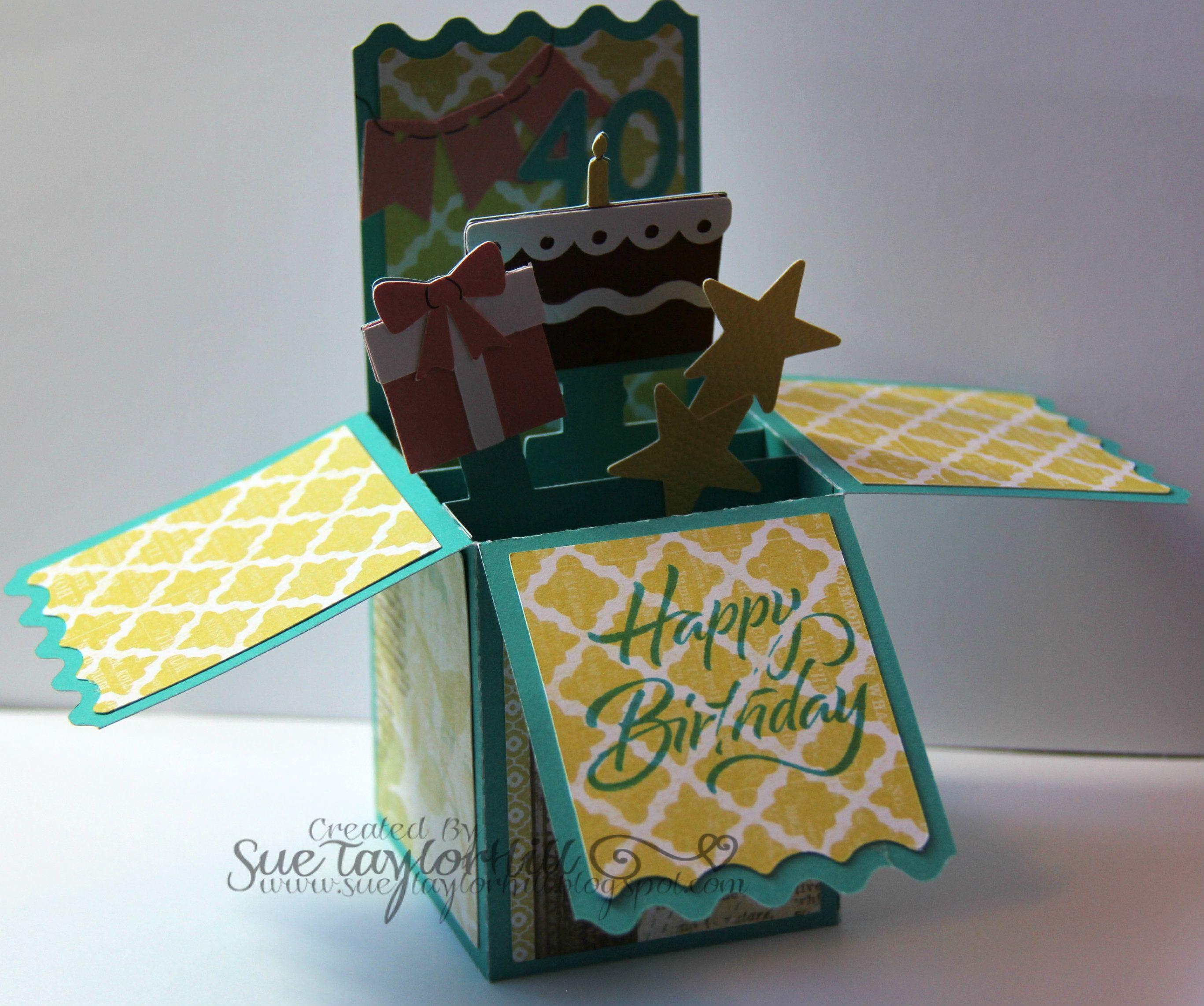 Pop up Birthday card   Birthday cards, Cute cards, Homemade birthday