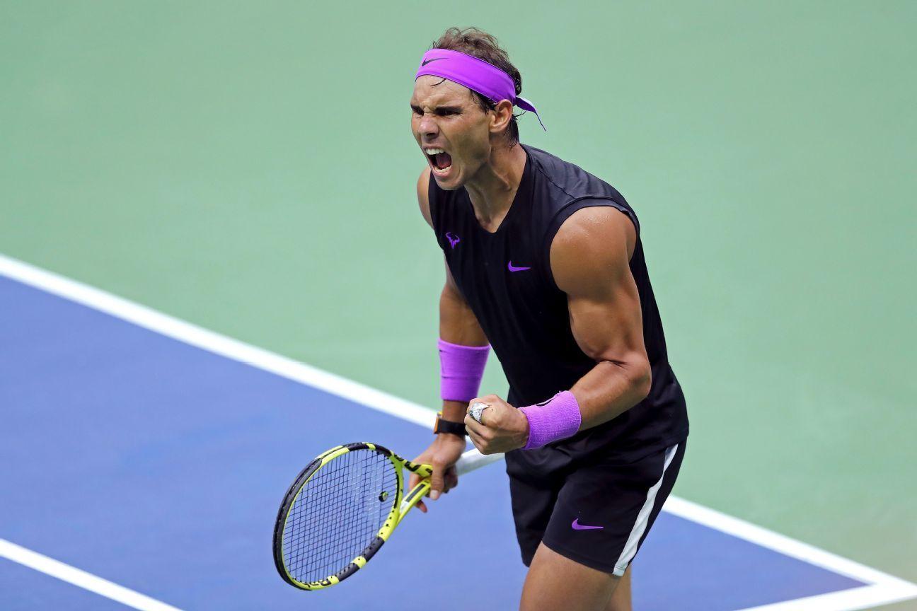 Nadal Edges Medvedev At Us Open For 19th Major Rafael Nadal Roger Federer Sporting Live