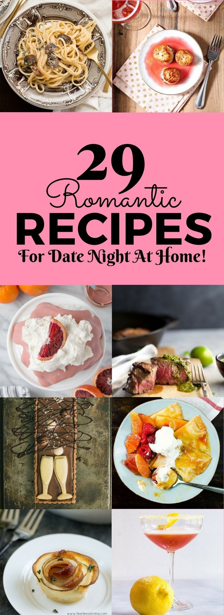 29 romantic recipes for date night at home romantic recipes and food 29 romantic recipes for date night at home fox and briar home recipessoul food forumfinder Images