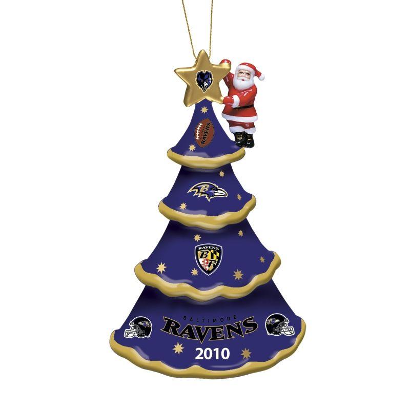 2010 Annual Baltimore Ravens Ornament - The Danbury Mint - 2010 Annual Baltimore Ravens Ornament - The Danbury Mint Ravens