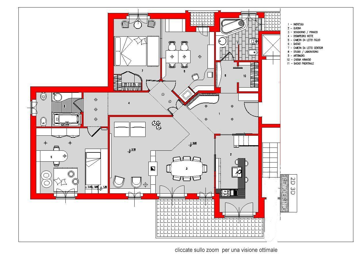 Piante Da Appartamento Dwg.Appartamento Dwg Camera Da Letto Appartamento Piantine Di Case