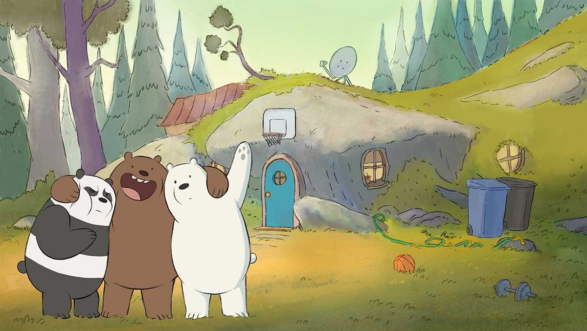 We Bare Bears Wallpapers Wallpaper Cave Inside Amazing We Bare Bears Wallpaper Laptop Hd Di 2020 Gambar Hewan Lucu Boneka Hewan Gambar Hewan