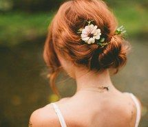 Inspiring image back, bridal, brown, cute, flower, girl, hairstyle, photography, pretty, red hair, updo, vintage, wedding, First Set on Favimcom #2307469 by LADY.D - Resolution 800x533px - Find the image to your taste