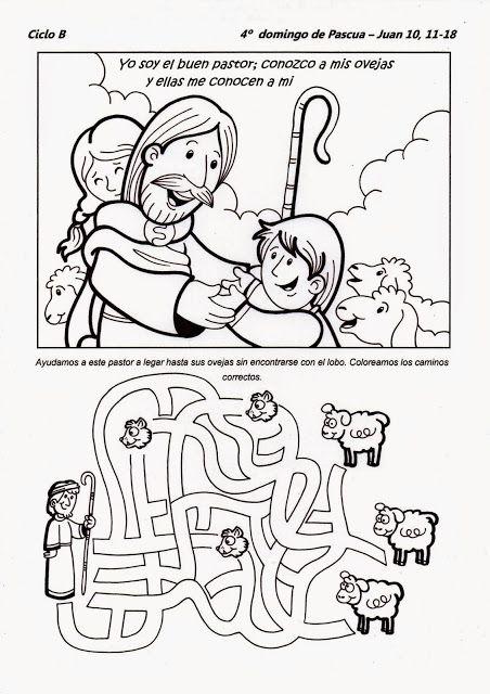 La Catequesis: Recursos Catequesis Cuarto Domingo de Pascua: El Buen ...