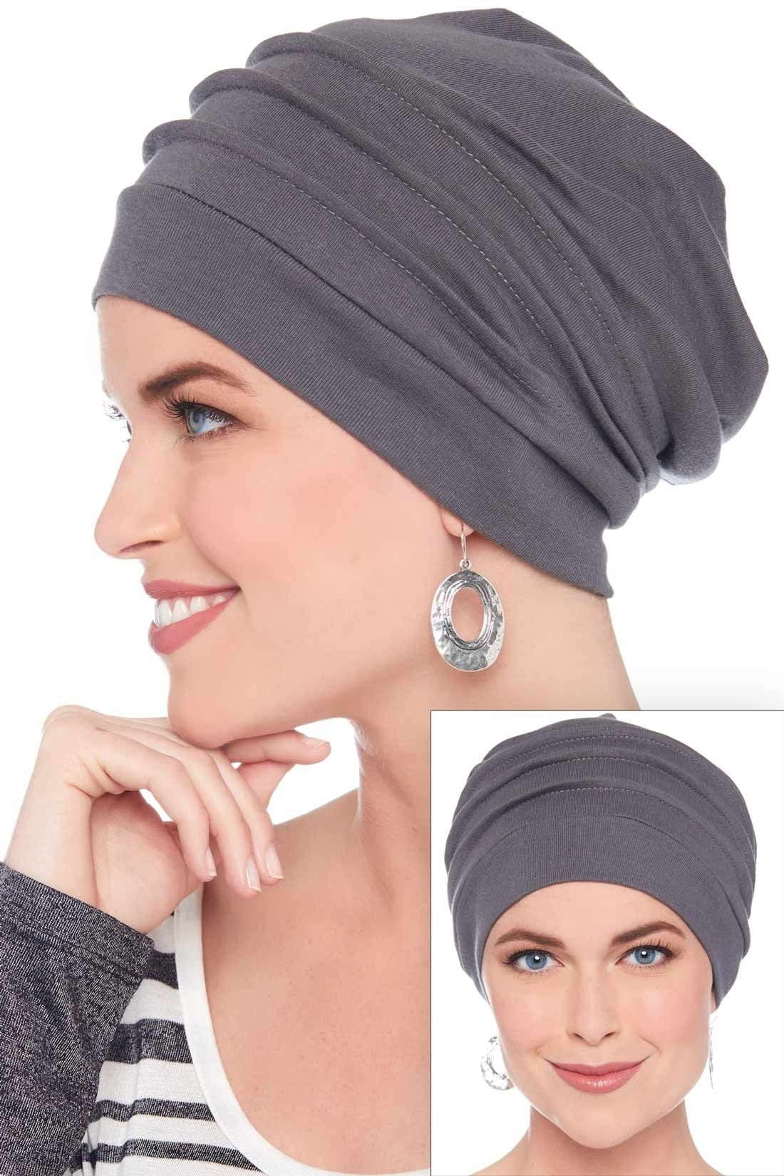 a779296f52d9 Slouchy Snood Hat   100% Cotton Slouchy Beanie Hats for Women. This is THE  BEST chemo cap. It s super stylish, incredibly versatile, and comfy!