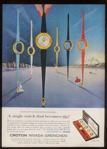 1960-Croton-Nivada-Grenchen-watch-surreal-art-vintage-print-ad