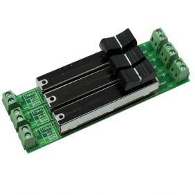Ledstrips 12 Volt Dc Slide Dimmer Switch 3 Channel Led Dimmer Dimmer Light Dimmers