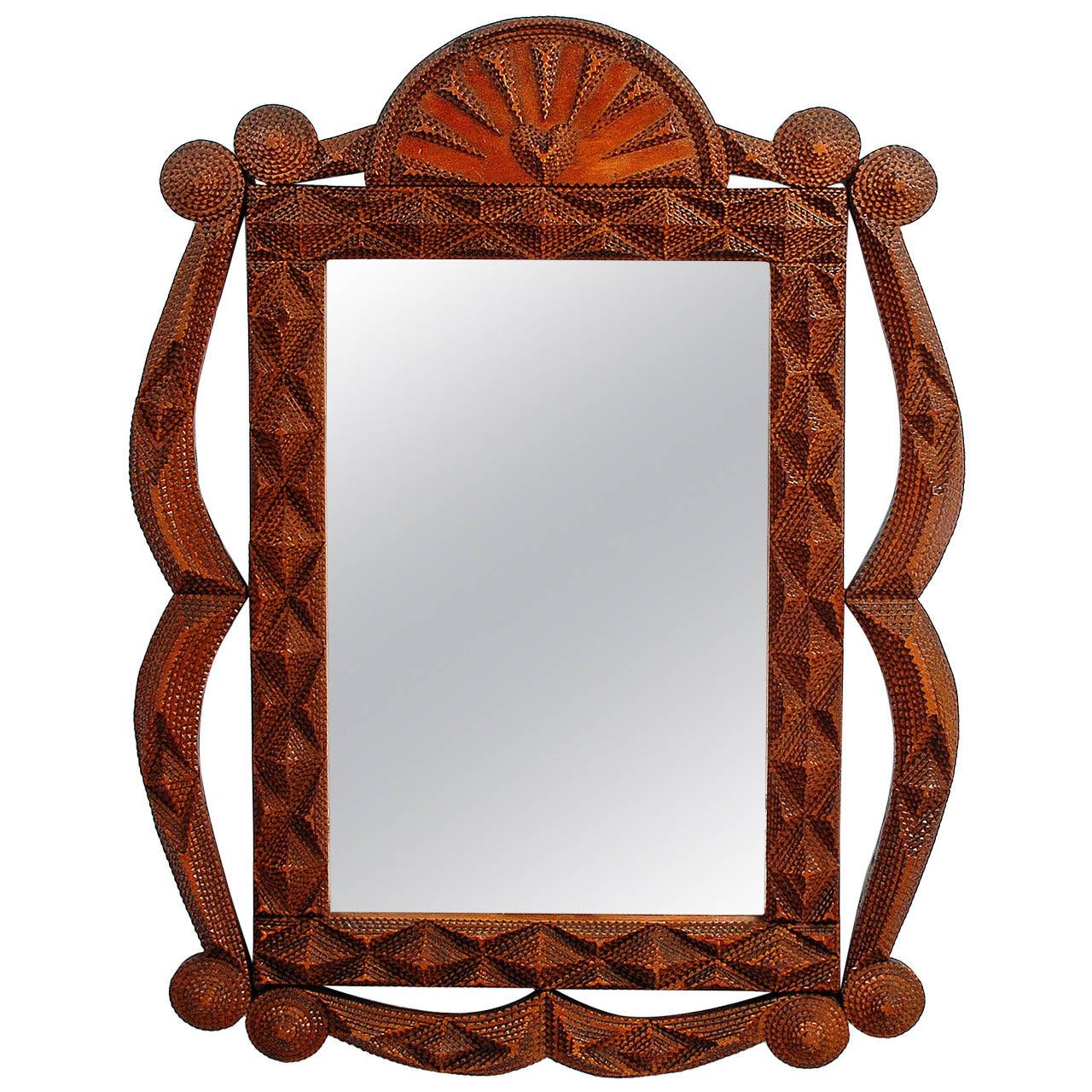 Fluid Tramp Art Mirror with Fan Top   Modern wall mirrors, Modern ...