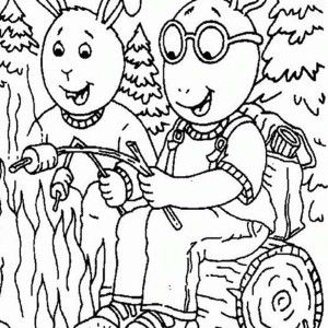 arthur binky barnes eat a lot of food in arthur coloring page arthur tamiya car racing coloring page baby kate read is arthur youngest sister coloring - Arthur Coloring Pages