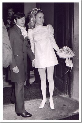 Sharon Tate And Roman Polanski S Wedding 20 01 1968 Celebrity