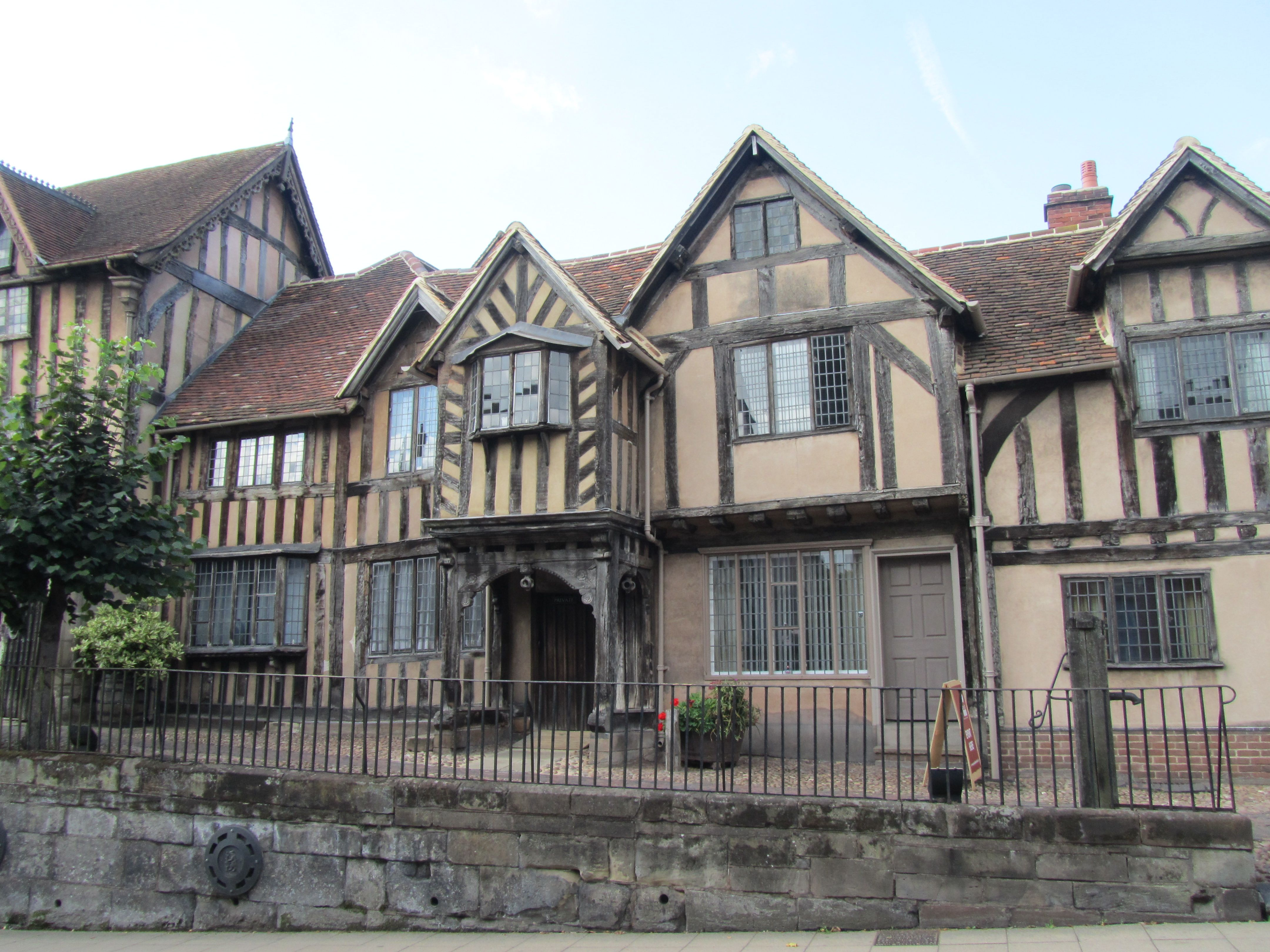 The Lord Leycester Hospital Warwick Dating From The Late